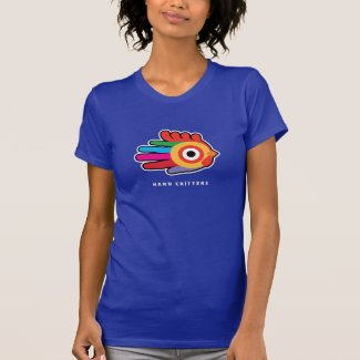 Rainbow Rooster with Red Comb T-shirt
