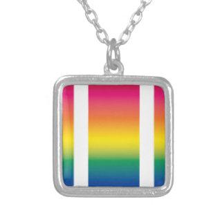 Rainbow Spectrum Blocks Pendant