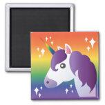 ❤️ Rainbow Unicorn Sparkle Emoji Magnet