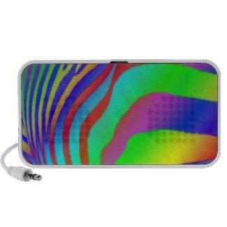 Rainbow Zebra Print doodle