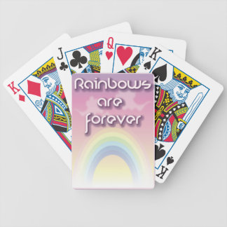 Rainbows Are Forever Bicycle Card Decks