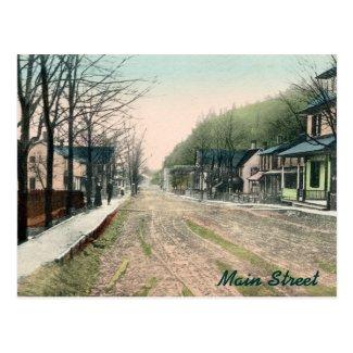 Ralston PA Main Street Postcard