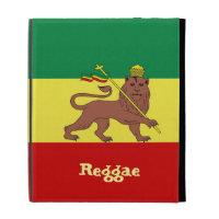 Rasta Reggae Lion of Judah iPad Folio Cover