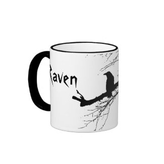Raven on the Tree Mugs