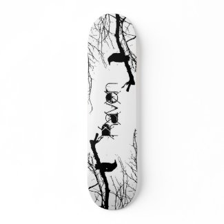 Raven Custom Skateboard