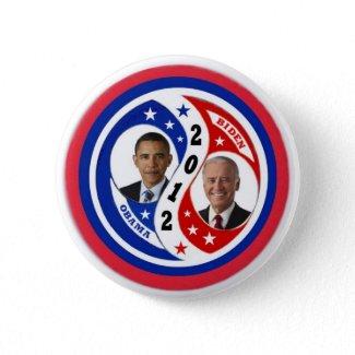 Re-Elect Obama Biden 2012 Buttons