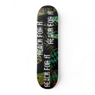 Reach For It - Skateboard Custom Deck - CricketD skateboard
