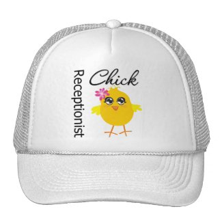 Receptionist Chick hat