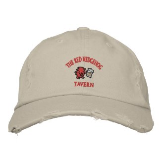 Red Hedgehog Tavern embroideredhat