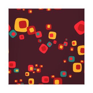 Red Myriads A Wrapped Canvas wrappedcanvas