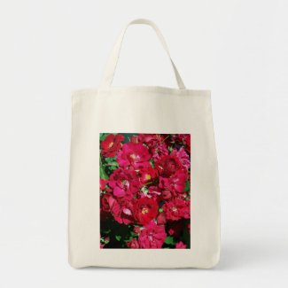 Red Rose Bush Bag bag