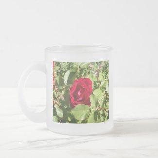Red Rose Mug mug