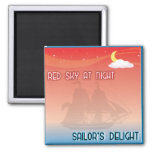 Red Sky At Night magnets