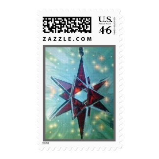 Red Star Holiday Stamps