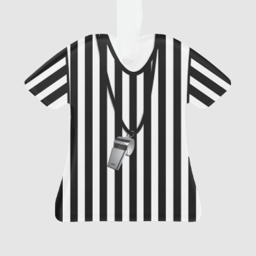Referee with Whistle Ornament