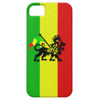 Reggae Lion iPhone 5 Cases