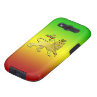 Reggae Lion of Judah Zion Rasta flag music Galaxy S3 Cover