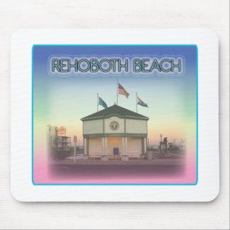 Rehoboth Beach Delaware - Rehoboth Ave Scene Mousepads