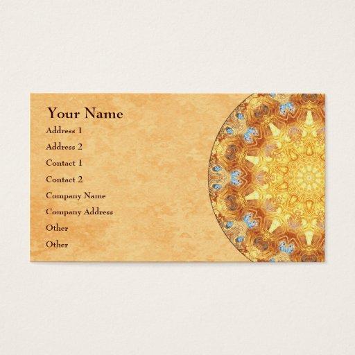 Renewal Mandala Business Card