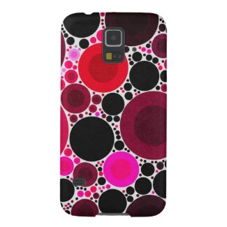 Retro Abstract Pattern Galaxy S5 Cases