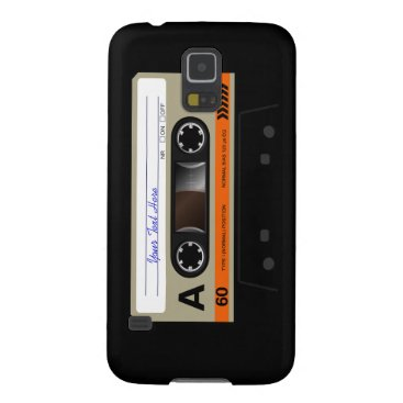 Retro Audio Cassette MixTape Samsung Galaxy S3 Cas Galaxy S5 Case