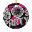 Retro Party Background ornament