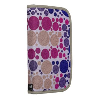 Retro Style Pattern Bling Dots Planner