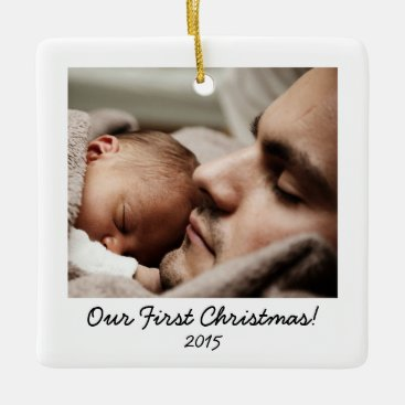 Retro style Photo Ceramic Ornament