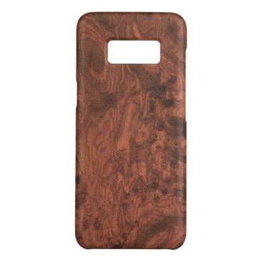 Rich Elegant Mahogany Wood Grain Texture Case-Mate Samsung Galaxy S8 Case