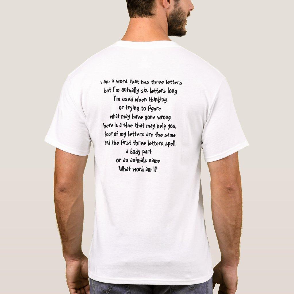 Riddle T Shirt