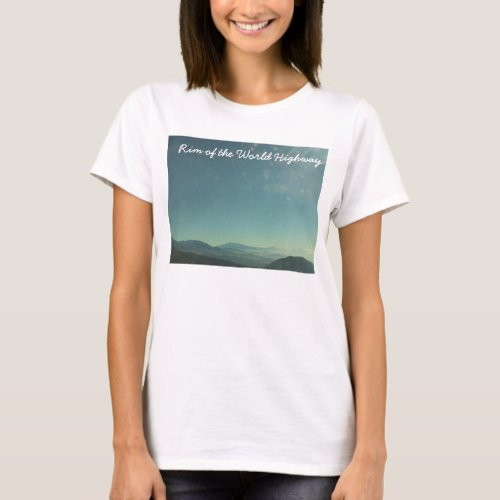 Rim of the World Highway shirt