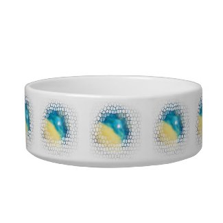Rising Star Designer Pet Food Dish zazzle_petbowl