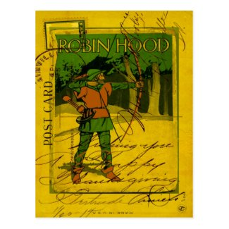 Robin Hood, His Bow and Arrow