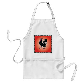 Rooster Attitude Aprons