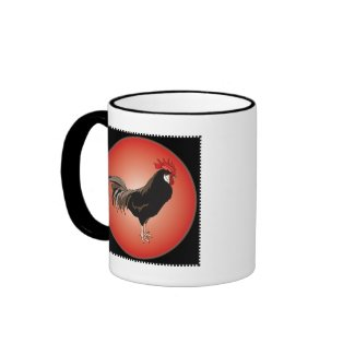Rooster Showcase Mug