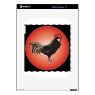 Rooster Showcase Skin For iPad 2