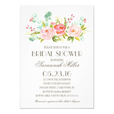 Rose Garden | Bridal Shower Invitation