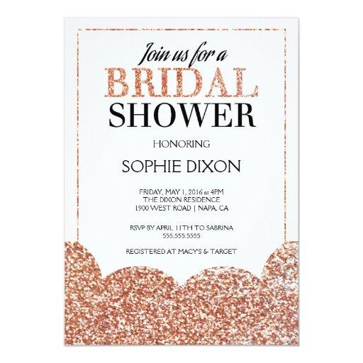 Quick Bridal Shower Invitations