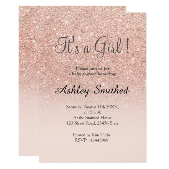 Custom Shower Invitations