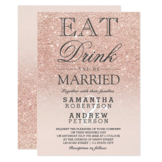 Rose Gold Wedding Invitations With Accessories Modern Unique Ideas Appearance 14