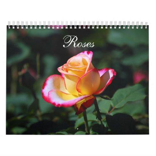 Roses 2012 Calendar calendar