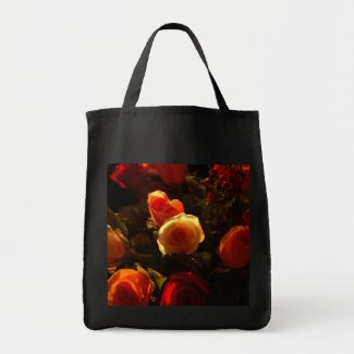 Roses I - Orange, Red and Gold Glory bag