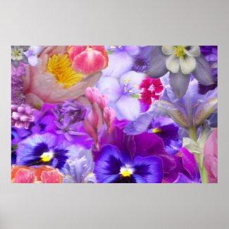 Rotary Garden Print