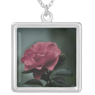 photo charm of red rose