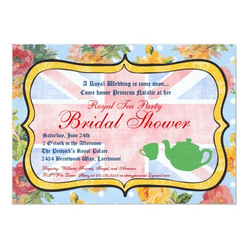 Bridal Shower Invitations Vancouver Bc