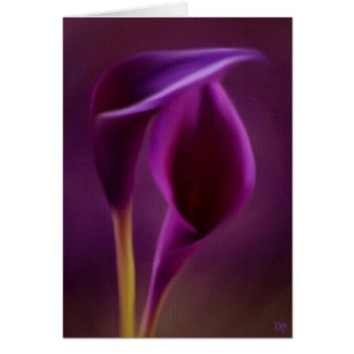 Royal Floral Cards