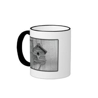 Rustic Birdhouse Mug