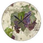 Rustic California Vineyard Pinot Noir Wine Winery Clocks