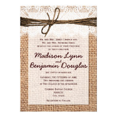 Burlap Wedding Invitations And Get Inspired To Create Your Invitation With Smart Design 12
