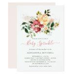 Rustic Elegance | Floral Baby Sprinkle Invitation
